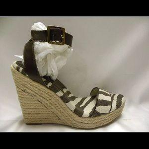 Michael Kors Espadrille Wedge Sandals (6.5) NEW